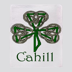 Cahill Shamrock Throw Blanket