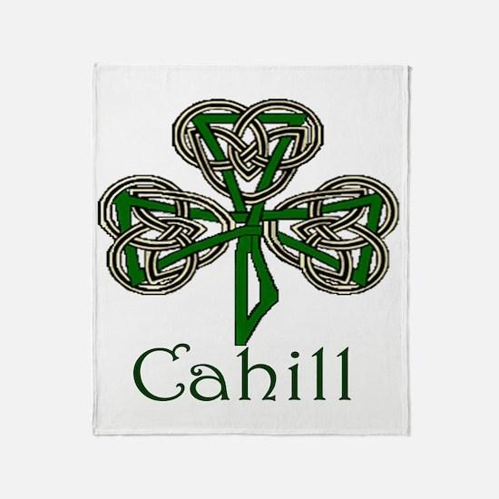 Cahill Shamrock Throw Blanket