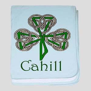 Cahill Shamrock baby blanket