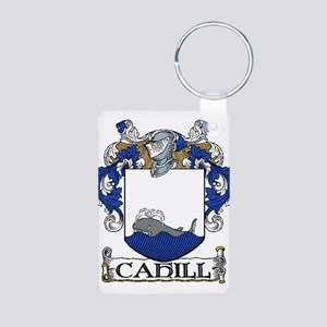 Cahill Coat of Arms Aluminum Photo Keychain