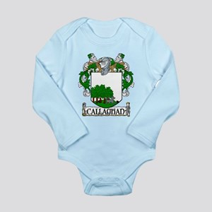 Callaghan Coat of Arms Long Sleeve Infant Bodysuit