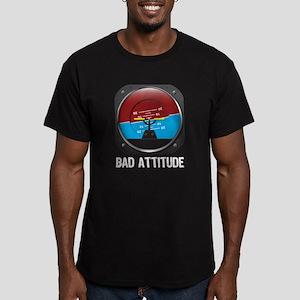 Bad Attitude Men's Fitted T-Shirt (dark)