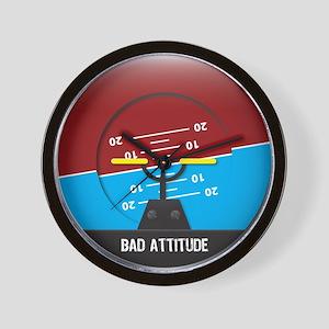 Bad Attitude Wall Clock