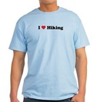 I Love Hiking Light T-Shirt