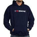 I Love Hiking Hoodie (dark)