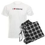 I Love Hiking Men's Light Pajamas