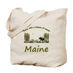 Majestic Maine Moose Tote Bag