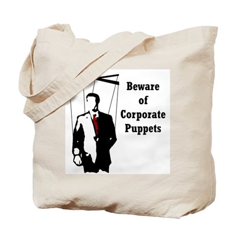 Corporate Puppet Tote Bag