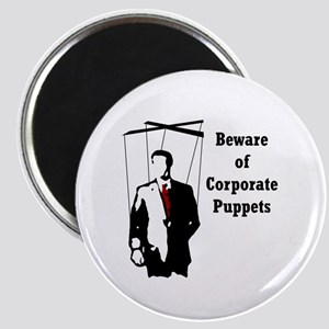 Corporate Puppet Magnet
