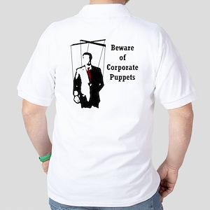 Corporate Puppet Golf Shirt