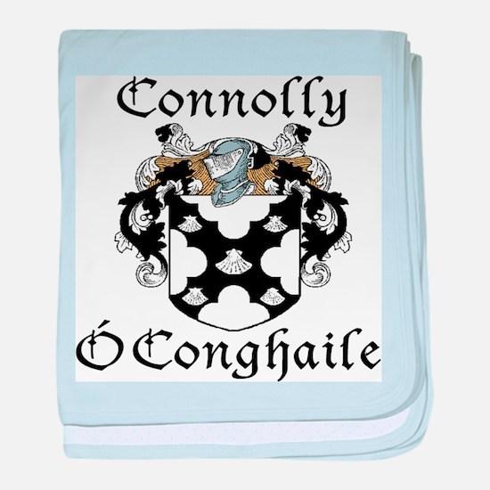 Connolly in Irish/English baby blanket