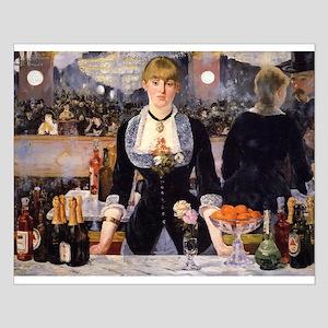 A Bar at Folies Bergere Small Poster