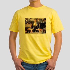 A Bar at Folies Bergere Yellow T-Shirt