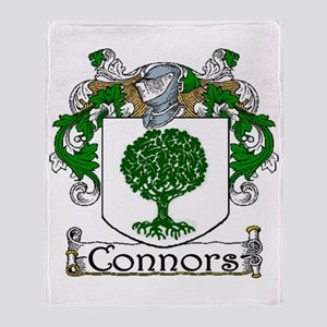 Connors Coat of Arms Throw Blanket