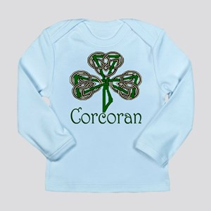 Corcoran Shamrock Long Sleeve Infant T-Shirt