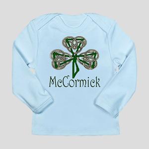 McCormick Shamrock Long Sleeve Infant T-Shirt