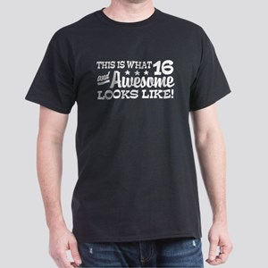 Funny 16th Birthday Dark T-Shirt