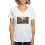 Colorado River - Grand Canyon Women's V-Neck T-Shi