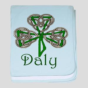 Daly Shamrock baby blanket