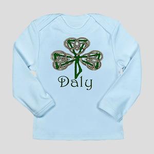 Daly Shamrock Long Sleeve Infant T-Shirt