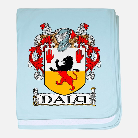 Daly Coat of Arms baby blanket