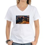 The Grand Canyon Women's V-Neck T-Shirt