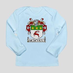 McDevitt Coat of Arms Long Sleeve Infant T-Shirt