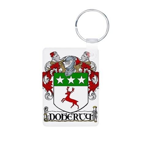 Doherty Coat of Arms Aluminum Photo Keychain