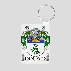 Dolan Coat of Arms Aluminum Photo Keychain