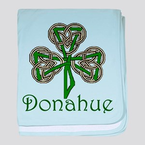 Donahue Shamrock baby blanket