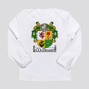 McDonald Coat of Arms Long Sleeve Infant T-Shirt