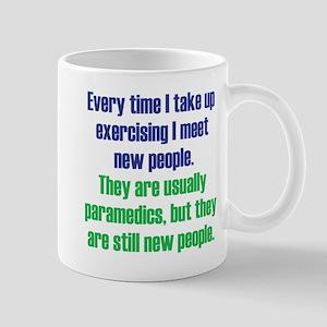 Benefits of Exercise Mug