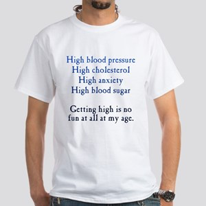 Old Age High White T-Shirt