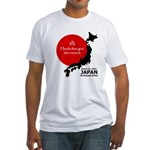 Japan Earthquake Relief Fitted T-Shirt