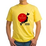 Japan Earthquake Relief Yellow T-Shirt