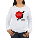 Japan Earthquake Relief Women's Long Sleeve T-Shir