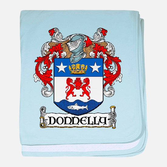 Donnelly Coat of Arms baby blanket