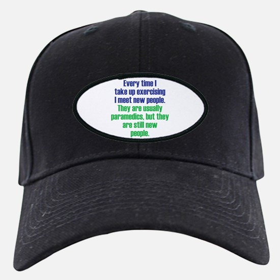 Benefits of Exercise Baseball Hat