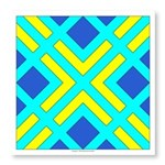 Squares And Angles Photo Wall Tile