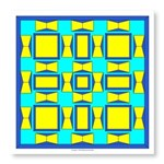 Blue And Yellow Dutch Photo Wall Tile