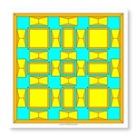 Yellow And Gold Dutch Photo Wall Tile
