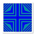 Blue Star One Photo Wall Tile