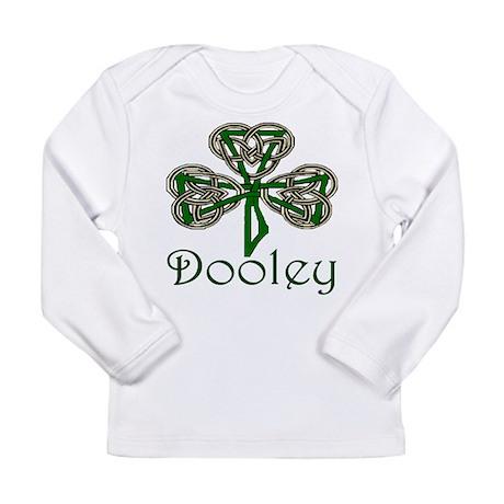 Dooley Shamrock Long Sleeve Infant T-Shirt