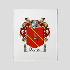 Dooley Coat of Arms Throw Blanket
