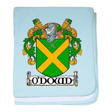O'Dowd Coat of Arms baby blanket