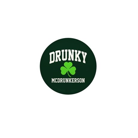 Drunky Mini Button (10 pack)