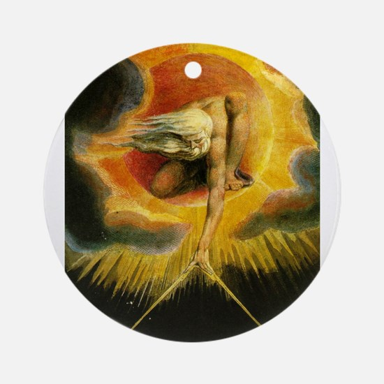 Ancient of Days Ornament (Round)