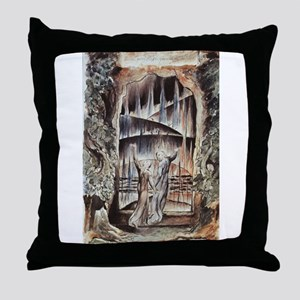 Dante and Virgil at the Entra Throw Pillow
