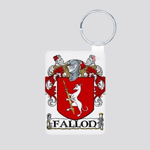 Fallon Coat of Arms Aluminum Photo Keychain
