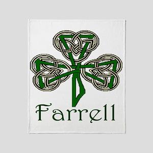Farrell Shamrock Throw Blanket